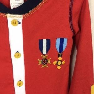 Mini Boden Pajamas - Mini Boden Union Suit Soldier Pajamas